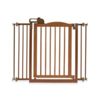 Richell® One-Touch Gate II Pressure Mount Step-Through Pet Gate in Autumn