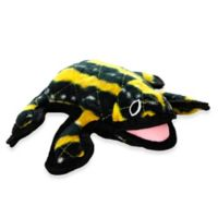 Tuffy® Dessert Series Phineas Frog Dog Toy in Black/Yellow