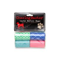 Chasing Baxter™ 120-Count Geometric Waste Refill Bags