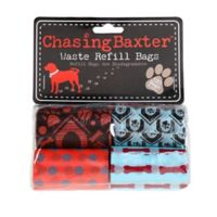 Chasing Baxter™ 120-Count Waste Refill Bags in Red/Black