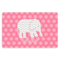 The Softer Side by Weather Guard™ Elephant 23-Inch x 36-Inch Kitchen Mat in Pink