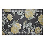 Laura Ashley® Hydrangea 32-Inch x 20-Inch Memory Foam Kitchen Mat in Champagne