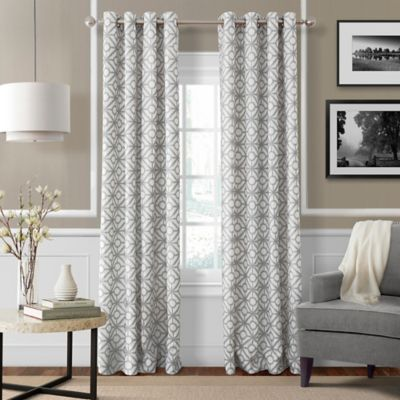 Buy Grey Linen Curtains from Bed Bath & Beyond