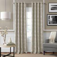 Julianne 84-Inch Blackout Grommet Top Window Curtain Panel in Natural