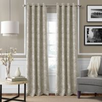 Julianne 84-Inch Blackout Grommet Top Window Curtain Panel in Natural
