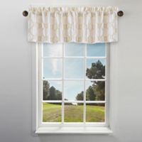 Cape Cod Rope Knot Embroidered Window Valance