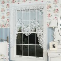 Heritage Lace® Victorian Rose Window Swag in White