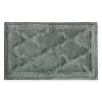 Jessica Simpson 21-Inch x 34-Inch Penelope Bath Rug in Grey