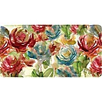 Home Dynamix Relaxed Chef Budding Roses 39.3-Inch x 19.6-Inch Anti-Fatigue Kitchen Floor Mat