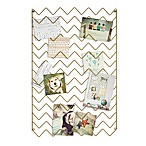 Umbra® Zig Zag Photo Collage Display in Gold