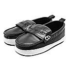 Stepping Stones Size 3-6M Casual Penny Loafer in Black