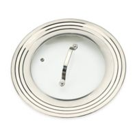 RSVP 12-Inch Universal Lid with Glass Insert