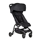 Mountain Buggy® Nano Travel Stroller in Black
