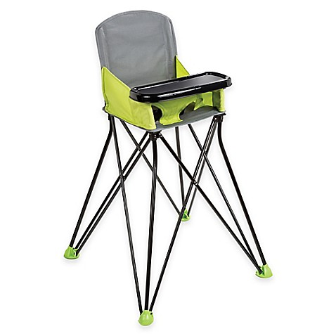 Summer Infant® Pop U0027n Sit Portable High Chair In Green/Grey
