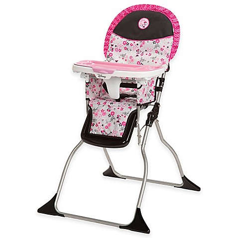 Disney 174 Simple Fold Minnie High Chair In Garden Delight