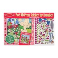 Melissa and Doug® Peel & Flower Garden Fairy Peel and Press Sticker by Number