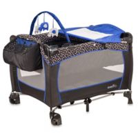 Evenflo® Hayden Dot Portable BabySuite® Deluxe Playard in Blue/Black