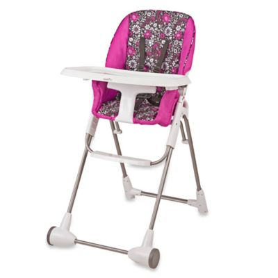 Charming High Chairs U003e Evenflo® Daphne Symmetry™ High Chair In Pink
