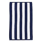 Wamsutta® Heavyweight Resort Stripe Beach Towel in Navy