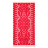 Lace Oversized Beach Towel in Pink