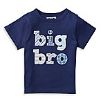 "Mud Pie® Size 3T ""Big Bro"" Patchwork Shirt in Navy"