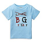 Mud Pie® Size 3T  Big Bro  Embroidered Shirt in Light Blue