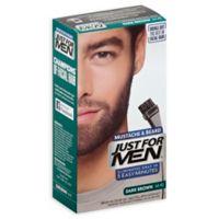 Just For Men® Mustache and Beard Brush-In Color Gel in Darkest Brown