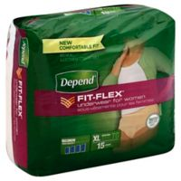 Depend® 15-Count Size Extra-Large Underwear for Women