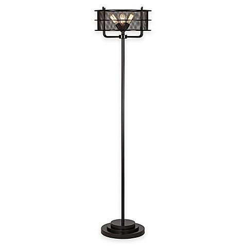 Pacific coastr lighting kathy ireland ovation 72 inch for Shelf floor lamp bed bath and beyond