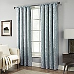 Pinehurst 84-Inch Rod Pocket Window Curtain Panel in Blue