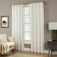 Pinehurst 95-Inch Rod Pocket Window Curtain Panel in Tan
