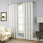 Pinehurst 84-Inch Rod Pocket Window Curtain Panel in Silver