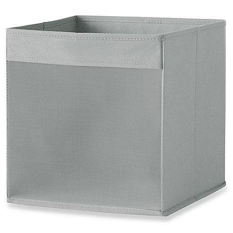 image of Real Simple® Mesh Front Foldable Storage Bin