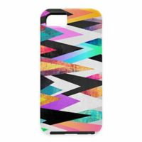 DENY Designs Elisabeth Fredriksson Colorful Peaks Graphic Case for Samsung Galaxy S5
