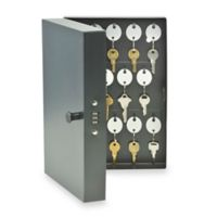 Steelmaster 201202804 Combination Lock 28-Key Cabinet in Black