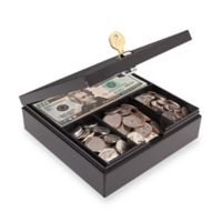 Steelmaster 227107004 Key Lock Personal Drawer Safe in Black