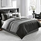 Manor Hill® Lowery Queen Comforter Set in Medium Grey