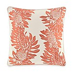 Tommy Bahama® La Scala Breezer Pineapple Square Throw Pillow in Papaya
