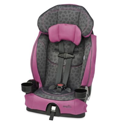 Evenflo® Chase® LX Harnessed Booster Seat in Tonal Hearts