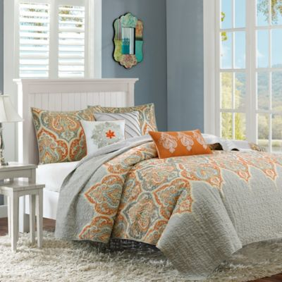 Madison Park Nisha King Coverlet Set