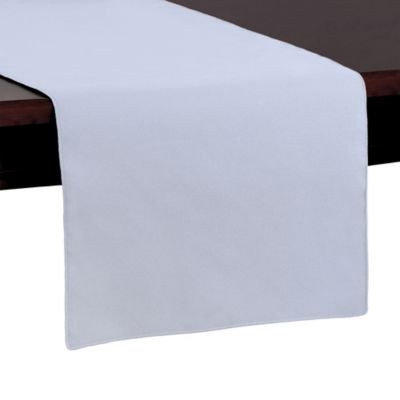 Basic Polyester 54 Inch Table Runner In Ice Blue