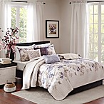 Madison Park Luna Full/Queen Coverlet Set in Taupe