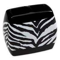 Creative Bath™ Zebra Toothbrush Holder