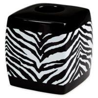 Creative Bath™ Zebra Boutique Tissue Box Cover