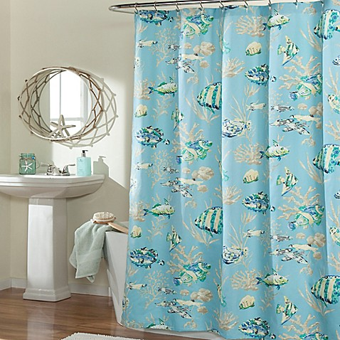 Mstyle Under The Sea Shower Curtain In Blue