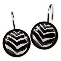 Creative Bath™ Zebra Shower Curtain Hooks (Set of 12)