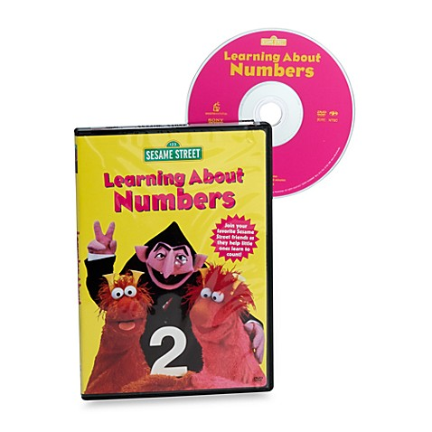 Sesame Street 174 Learning About Numbers Dvd Buybuy Baby