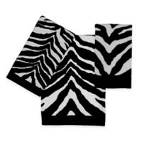 Creative Bath™ Zebra Washcloth