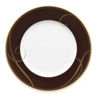Noritake® Golden Wave Chocolate Salad Plate