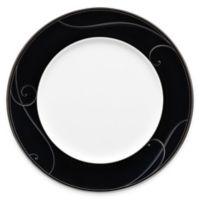 Noritake® Platinum Wave Ebony Dinner Plate